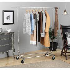 Whitmor 6339-1938 Chrome Steel Commercial Rolling Garment Rack - Free  Shipping Today - Overstock.com - 14995490