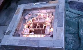 outdoor gas fireplace burner gas fire pit burner kit uk