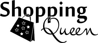 Autoaufkleber Spruch Shopping Queen Sterne Heckscheibenaufkleber