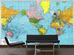 quentin horn world map wall hanging inspirational world map for wall mural new vinyl decal 53dd8103