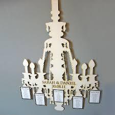lasercut chandelier table plan