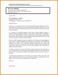 Resume Child Welfare Social Worker Cover Letter Best Inspiration