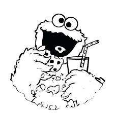 Cookie Monster Coloring Page Awesome Baby Cookie Monster Coloring