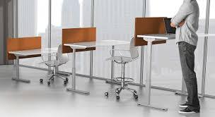 office furniture on wheels. adjustable height desks office furniture on wheels c