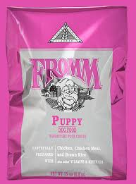 Fromm Puppy Feeding Chart Classic Puppy Dog Food Daily Feeding Recommendations