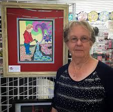 Kit and Kaboodle - Artist Eleanor Friesen hosts art demos at Kit ...