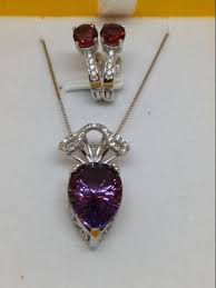 2 lots earrings and natural amethysts pendant amethyst earrings large amethyst pendant with