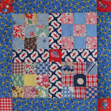 Vintage 9-Patch Quilt Top — Redo – Q is for Quilter & Here's ... Adamdwight.com