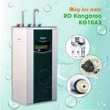 Máy lọc nước nóng lạnh 2 vòi 3 chức năng Kangaroo KG10A3. 10 cấp lọc, màng  RO Hàn Quốc