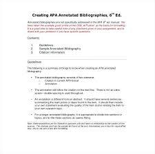 apa bibliography format example annotated bibliography examples are abridged and a brief discourse