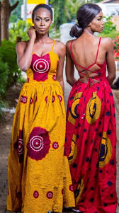 Image result for african print long dresses