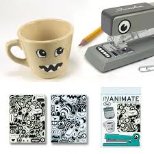 creative office supplies. Face Stickers Creative Office Supplies