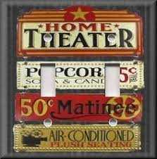 Small Picture Metal Wall Art Home Theater Decor Movie Night Film Night film