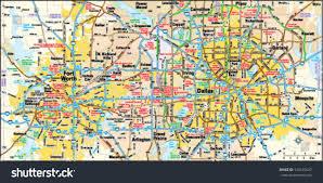 dallas fort worth texas area map stock vector 144155647 shutterstock Map Fort Worth Texas dallas and fort worth, texas area map map fort worth texas area