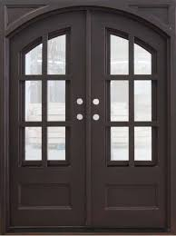 fd 06 square top double iron door 60