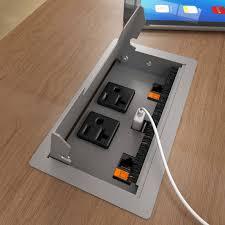villa cable management box cable management boxes smartdesks in desk power and data