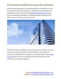 professional liability insurance for architects by hall and company inc issuu