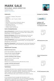 Regional Sales Director Resume Samples Visualcv Resume Samples