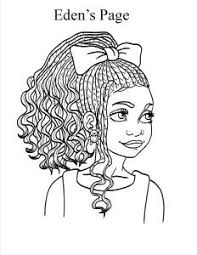 Edens Page Natural Hair Coloring Books Coloring Pages Free