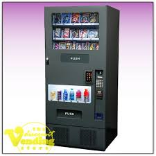 Vending Machine Credit Card Processing Gorgeous FEH Combo Vending Machine Vending Machines The Discount Vending