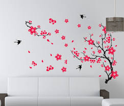 Small Picture Large Plum Blossom Flower Removable Wall Sticker Decor Decal