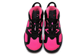jordan shoes 2015 for girls. 2015 air jordan 6 gs black pink shoes for sale-5 girls