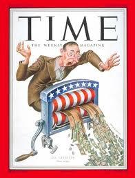 TIME Magazine Cover: U.S. Taxpayer - Mar. 10, 1952 - Finance - Taxes -  Politics