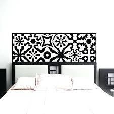 headboards headboard wall decal quilted headboard wall decal vinyl art wall sticker bed decoration art