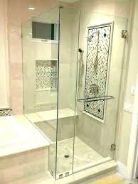 shower door cost with of doors designs glass shower door installation cost average cost to install