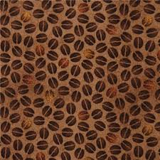 brown coffee bean fabric Quilting Treasures 'Daily Grind' - Kawaii ... & brown coffee bean fabric Quilting Treasures 'Daily Grind' Adamdwight.com