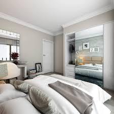 Minimalist Bathroom Remodel Completed Elegant Brown Wood Layered Modern Opposite