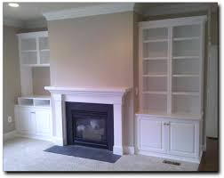 Over The Fireplace Tv Cabinet Fireplace Cabinets Coloured Wood On Top Of Cabinet Shelves Set