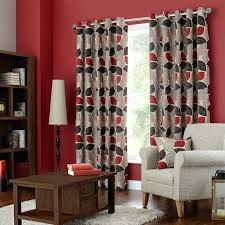 red patterned curtains red patterned curtains newfangled red patterned curtains favored drawing lined eyelet with medium red patterned curtains