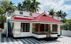 kerala style single floor free home