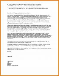 Recommendation Letter For Grad School Letter Of Recommendation For School Write A Nursing Gagna 5