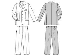 Suit Pattern Stunning Burda 48 Suit
