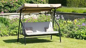 garden swing seat luxury beige swing bed 3 garden swing seat with cushions adjule canopy garden garden swing seat