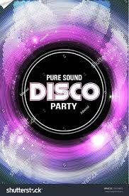 Flyer Background Template Disco Party Flyer Background Template Vector Stock Vector 24 17