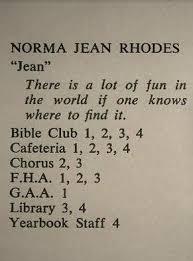 Norma Jean Rhodes, Okemos, MI Michigan