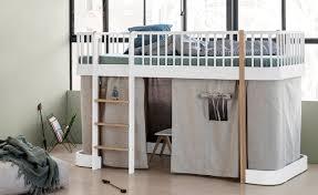 Child Bed Design Wood Wood Kids Low Loft Bed