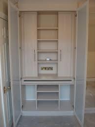 office in a wardrobe. Wardrobe Interiors \u2013 Office Desk Inserted Into A In