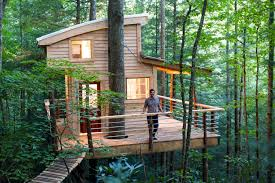 Image Cool The Sylvan Float Canopy Crew The Canopy Crew Tree House Rentals Red River Gorge Ky