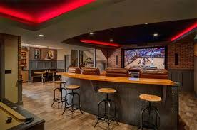 Man Cave Ideas For Basement Wish Sports Pertaining To 16