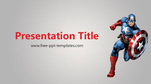 america ppt template captain america powerpoint template captain america ppt template