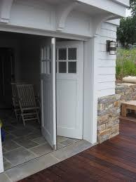 verticle bifold garage door