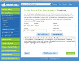 Updated Best Resume Making Software Best Resume Builder Free