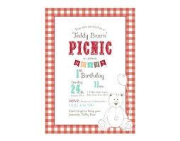 Company Picnic Template Picnic Invitation Template Teddy Bears Picnic Invitations Teddy