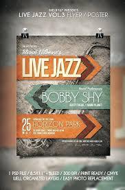 Concert Flyer Templates Free Jazz Flyer Template Free Concert Flyer Template Free Jazz