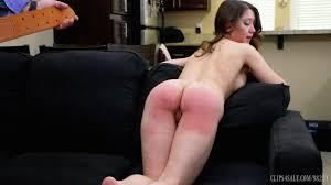 Wife spanked blistered wet