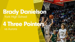 4 Three Pointers vs Aurora - Brady Danielson highlights - Hudl